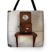 Time Clock Tote Bag
