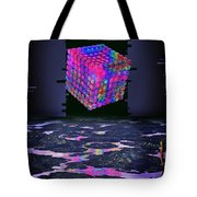 Time Cube Tote Bag