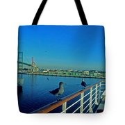 Time For A Cruise Tote Bag