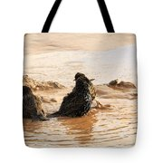 Time For A Mud Bath Tote Bag