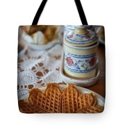 Time For Waffle Tote Bag