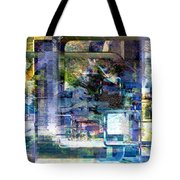 Time Framing Tote Bag