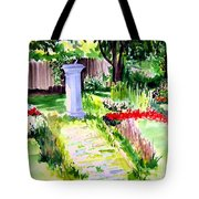 Time In A Garden Tote Bag