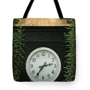 Time In The Garden Tote Bag