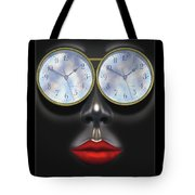 Time In Your Eyes Tote Bag