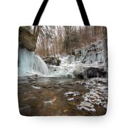 Time Is A Stream Tote Bag