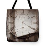 Time Is Infinite Tote Bag