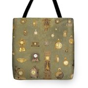 Time Keeps On Ticking Tote Bag