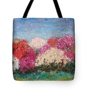 Time Of Rhododendron Tote Bag