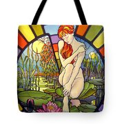 Time Passing By Tote Bag