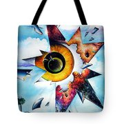 Time. Shattered Pieces Tote Bag