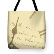Time Signatures Tote Bag