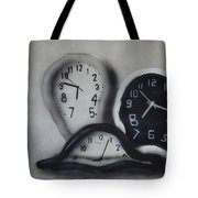 Time Slipping Away Tote Bag
