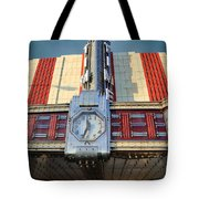 Time Theater Marquee 1938 Tote Bag