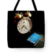 Time Then And Now Tote Bag