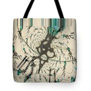 Time Ticking To The New Year Tote Bag