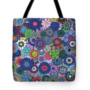 Time To Bloom Tote Bag