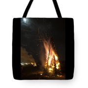 Time To Burn Tote Bag