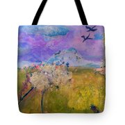 Time To  Feel The Breeze Tote Bag