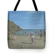 Time To Go Home - Porthgwarra Beach Cornwall Tote Bag