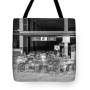 Time To Go In Tote Bag