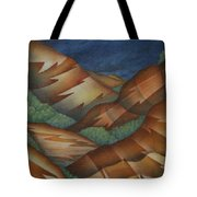 Time To Seek Shelter Tote Bag