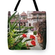 Time To Smell The Flowers Tote Bag