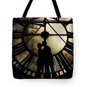 Timeless Love - Golden Brown Tote Bag