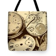 Timepieces Tote Bag by John Short