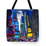Times Square 7453 Tote Bag