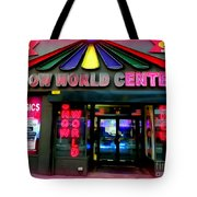 Times Square Fading Tote Bag
