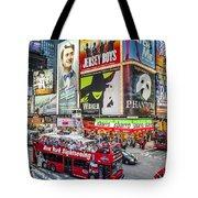 Times Square II Tote Bag
