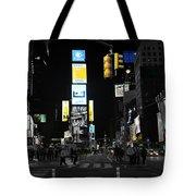 Times Square New York City Big Apple Tote Bag