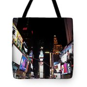 Times Square New York City New Years Eve Tote Bag