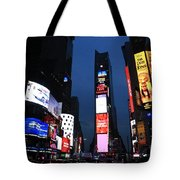 Times Square New York Tote Bag
