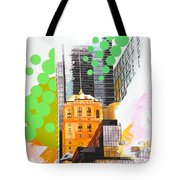 Times Square Ny Advertise Tote Bag