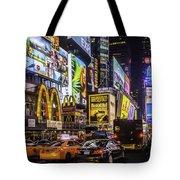 Times Square Pano Tote Bag