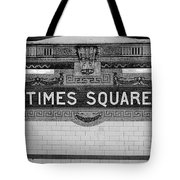 Times Square Station Tablet Tote Bag