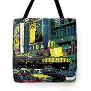 Times Square Visitors Center Tote Bag
