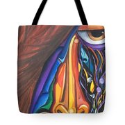 Hidden Scream - Scar Series 4 Tote Bag