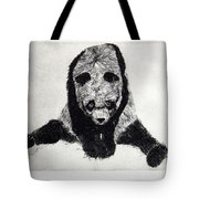 Timido Panda Tote Bag