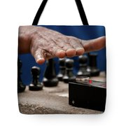 Timing The Chess Move Tote Bag