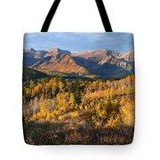 Timpanogos Autumn Sunrise Tote Bag