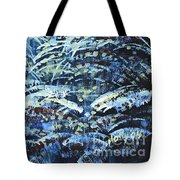 Tim's Winter Forest Tote Bag