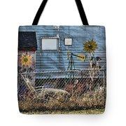 Tin Art Tote Bag