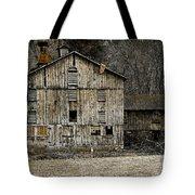 Tin Cup Chalice Rustic Barn Tote Bag