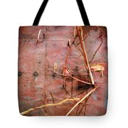 Tin Door - Red Pond Tote Bag