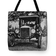 Tin Lizzy - Ford Model T Tote Bag by Bill Cannon