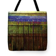 Tin Roofs Tote Bag
