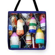 Tin Shed Floats Tote Bag